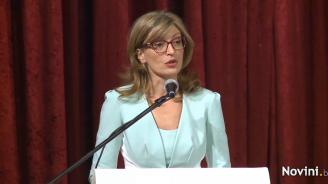 Екатерина Захариева: Надявам се някой ден българите в чужбина да се завърнат