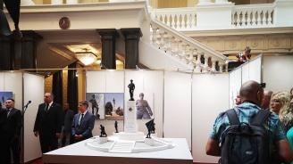 В Народното събрание бе представен макет на паметник на 9-а пехотна Плевенска дивизия