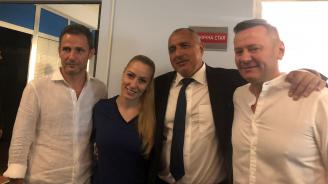 """Борисов посети снимачната площадка на """"Откраднат живот"""" и разговаря с екипа на сериала"""
