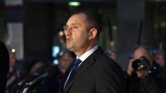 Румен Радев с реч в Карлово пред паметника на Васил Левски
