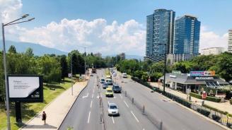 """Столична община: Продължава работата по асфалтирането на южното пътно платно на бул. """"България"""""""