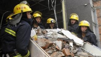 Жертвите на експлозията в газопреработвателен завод в Китай станаха 10