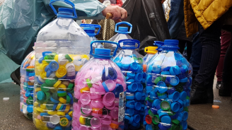 Жителите на община Тунджа предадоха над 3,5 тона пластмасови капачки