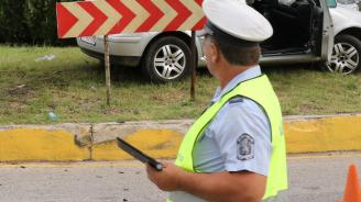 Катастрофа затапи движението на пътя Радомир – Долна Диканя