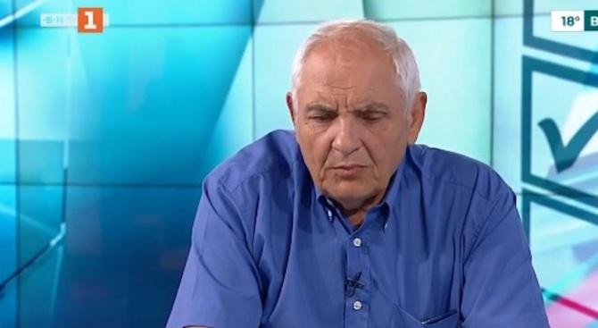 Политологът Димитър Димитров коментира в сутрешния блок на БНТ случващото