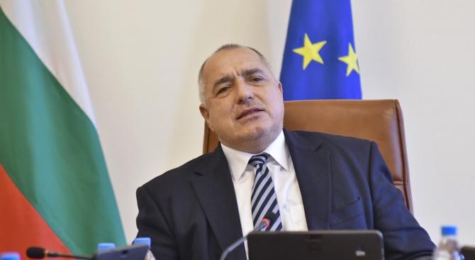 Премиерът Бойко Борисов поздрави Борис Джонсън по повод избирането му