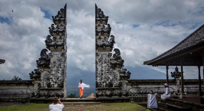 Прочута туристическа атракция в Бали се оказа фалшива