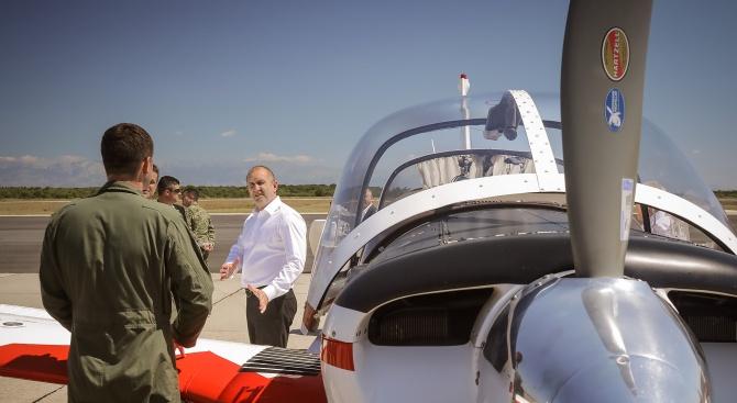 Президентът Румен Радев посети в рамките на държавното си посещение