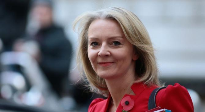 Лиз Тръс бе назначена от новия британски премиер Борис Джонсън