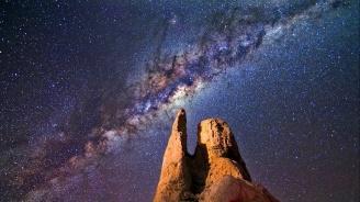 Млечният път се е слял с по-малка галактика