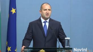 Румен Радев: Сделката за F-16 не бива да е за сметка на достойнството на България