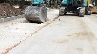 Започна ремонтът на 4 улици в Банско