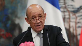 Френският външен министър изрази загриженост от хуманитарната обстановка във Венецуела