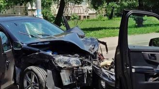 Катастрофа край Търговище: Една жена е пострадала