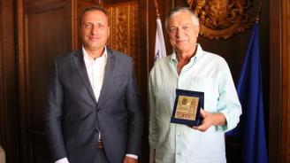 Кметът на Банско посрещна Почетния Консул на Италия - Антонио Таркуинио