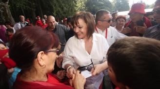 Нинова от Бузлуджа: Народе, помогни ни да спасим България