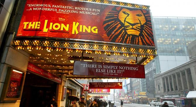 """""""Цар Лъв"""" и този уикенд запази първото място в бокс-офис"""