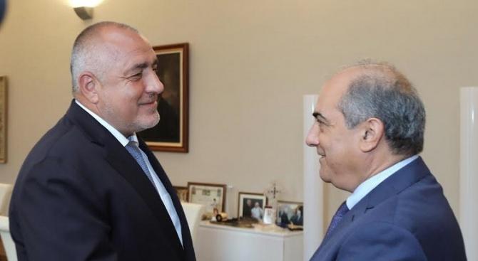 Министър-председателят Бойко Борисов се срещна с председателя на Камарата на