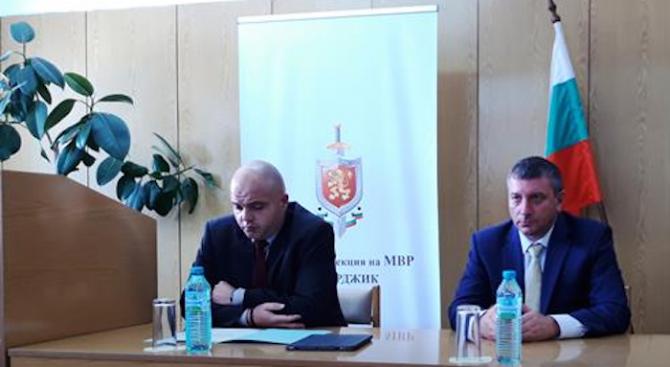 Старши комисар Ивайло Тишев застава начело на ОД МВР-Пазарджик