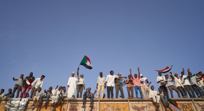 Най-малко четирима души бяха убити при демонстрация в Судан
