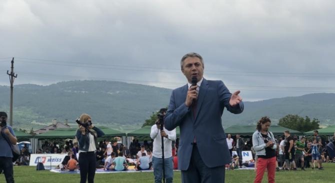 Председателят на ДПС Мустафа Карадайъ присъства на официалното откриване на