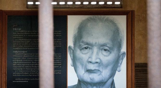 Идеологът на Червените кхмери Нуон Чеа почина днес на 93 години