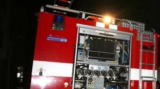 Голям пожар горя снощи на борсата в Шумен