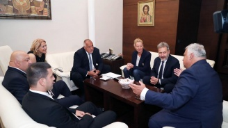 Борисов се срещна с президента на Международната федерация по борба Ненад Лалович