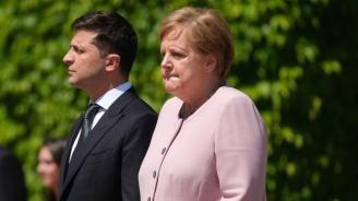 Ангела Меркел е фенка на Володимир Зеленски?