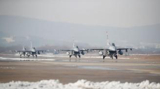 Тръгва сделката за американските изтребители F-16