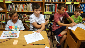 Варненската библиотека с интересни занимания за децата през ваканцията