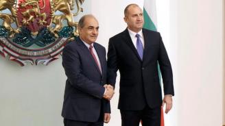 Румен Радев се срещна с председателя на Камарата на представителите на Република Кипър