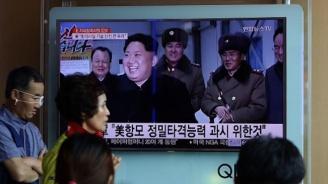 Ким Чен-ун е ръководил пробно изстрелване на нова ракетна система