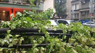 Буря вилня и във Варна