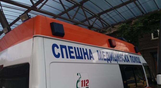 Двама мъже са пострадали при катастрофата, станала днес на АМ