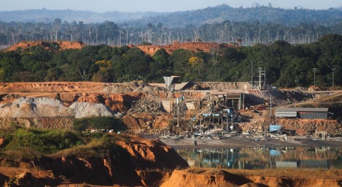 Обезлесяването в Амазонската гора в Бразилия се е увеличило с около 67%