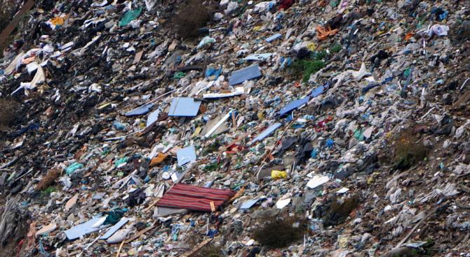 Старото депо за битови и строителни отпадъци на община Стрелча