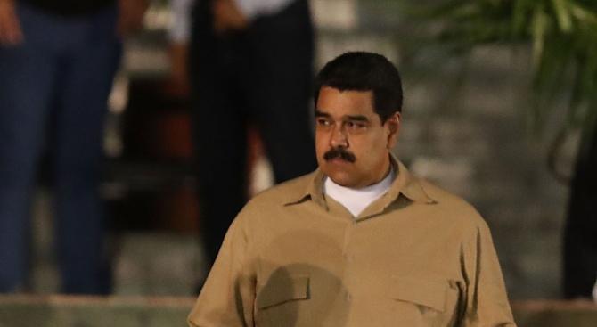 Венецуелският президент Николас Мадуро отмени участието на правителствена делегация в