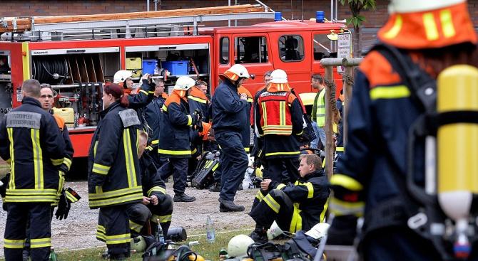 Пожар е горял в заведение в местността Червенка край Черноморец.