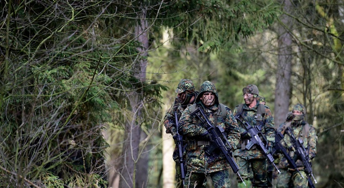 Снимка: Секретна информация на Бундесвера изтече в нета