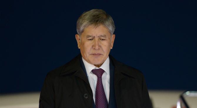 Бившият президент на Киргизстан Алмазбек Атамбаев ще остане в ареста