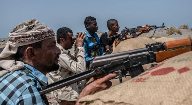 Ожесточени сражения продължават днес в южния пристанищен град Аден между