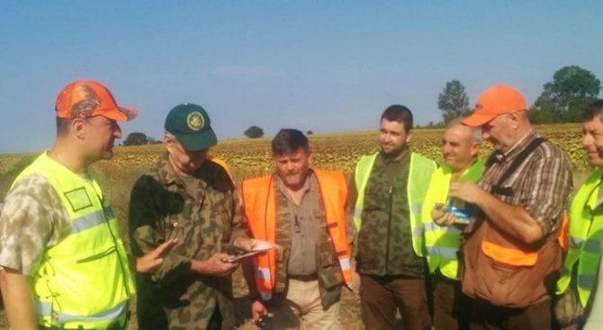 При откриването на ловния сезон на дребен пернат дивеч заместник-министърът