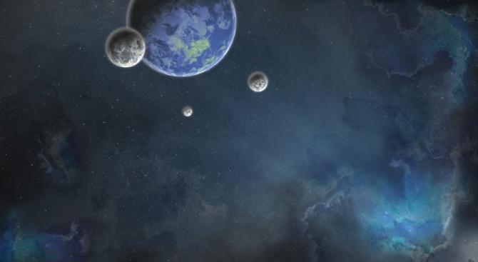 Израелски учени заключиха, че две планети, които кръжат около червено