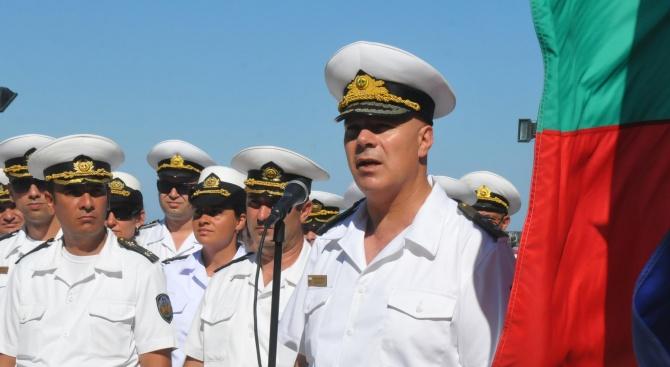 Днес военният флот на България може да се похвали с