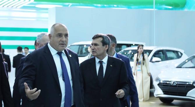 Българската страна има интерес да инвестира в Туркменистан в редица