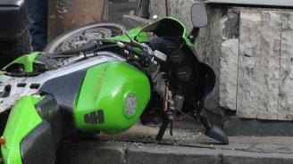 Моторист пострада на пътя Банско-Гоце Делчев