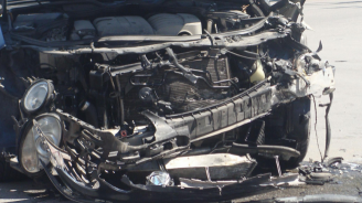 Катастрофа с петима пострадали, сред които 2 деца, затвори пътя Созопол-Приморско