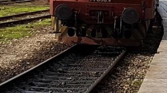 Влак блъсна колоездач на гара Дългопол