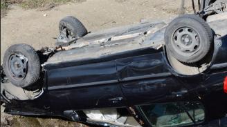 Жена загина в тежка катастрофа край село Ребърково